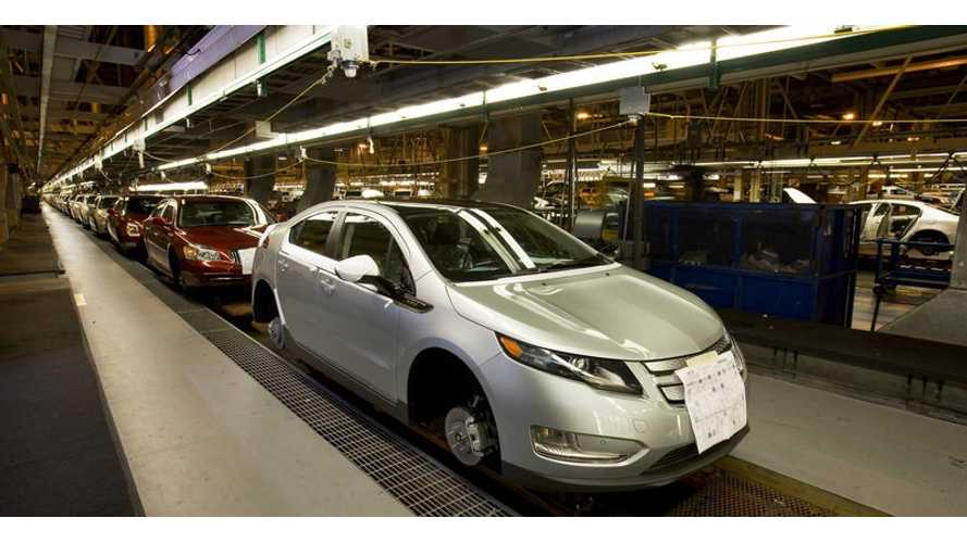 End Of An Era - Final First-Gen Chevrolet Volt Rolls Off The Assembly Line