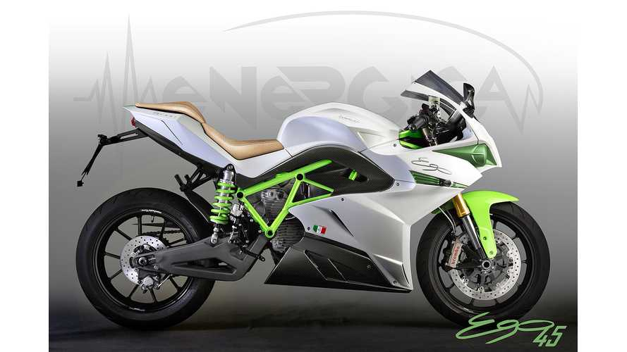 Energica Ego45 Color Choices