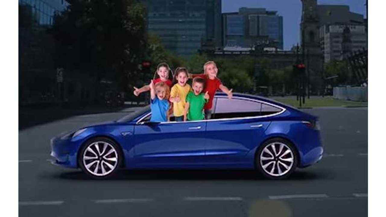 Tesla Model 3 satire
