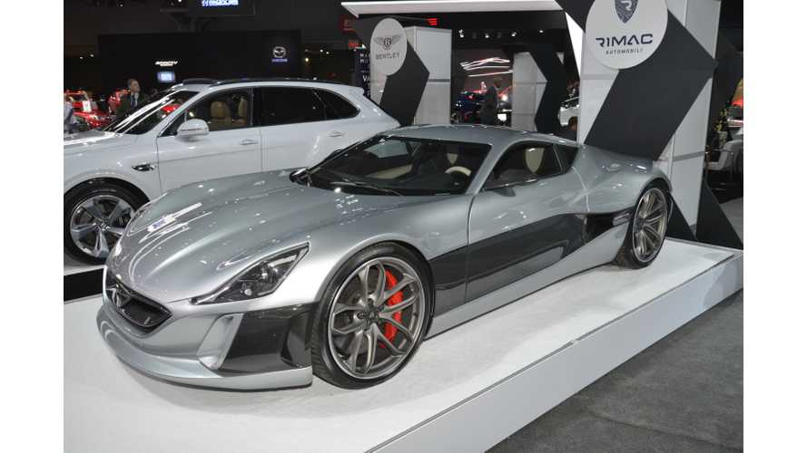 Rimac Concept_One At The 2017 NYIAS - Photos & Videos
