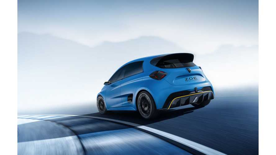 Renault Actually Considering Production Of Hot Zoe RS