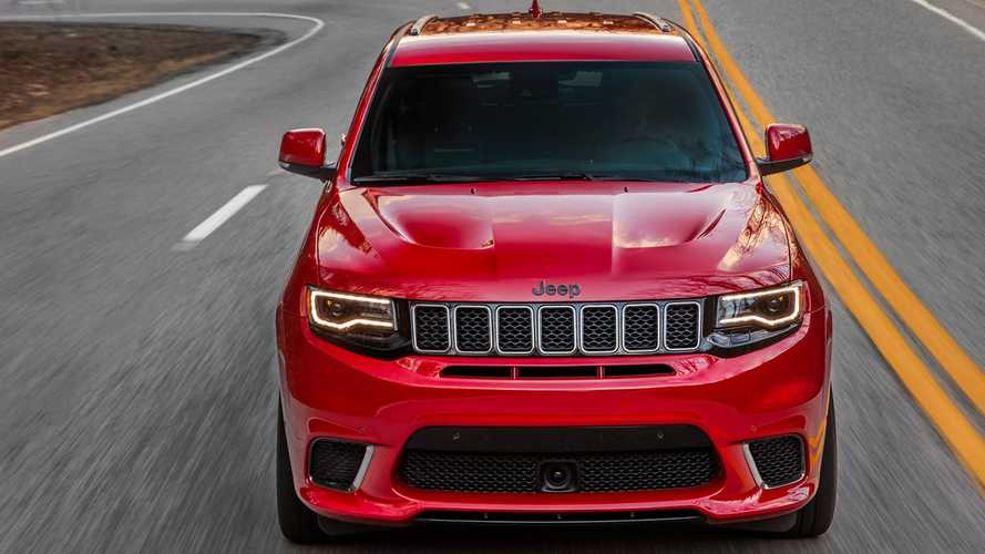 "Jeep ""World's Quickest SUV"" Claim For Grand Cherokee Trackhawk Ignores Tesla Model X"