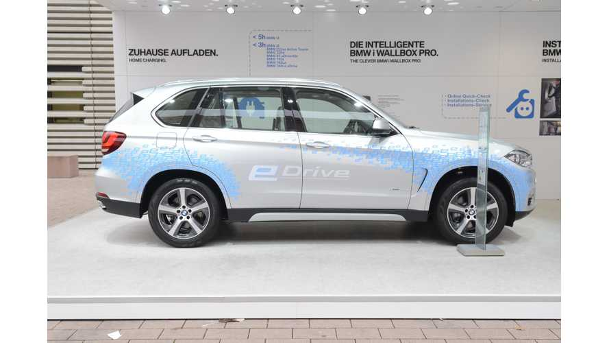 BMW Plug-In Electric Car Sales Up 31.2% In 2017