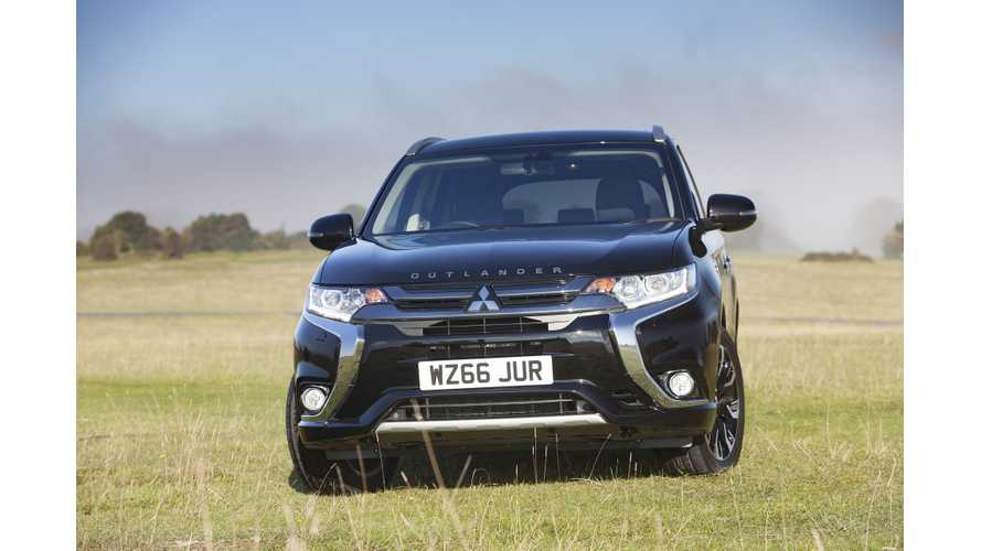 Mitsubishi Outlander PHEV Priced From Under $35,000 In U.S., Launch Set For December