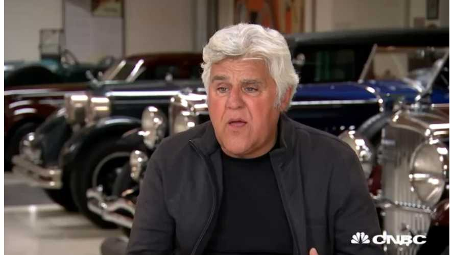 Jay Leno Says Americans Should All Root For Tesla - Video