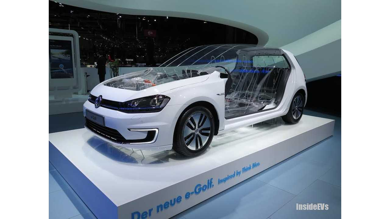 Outlook of Volkswagen e-up! and e-Golf Range With Larger Battery Packs