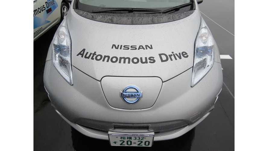 Nissan LEAF Autonomous Drive Tackles New Japan Highway  - Video