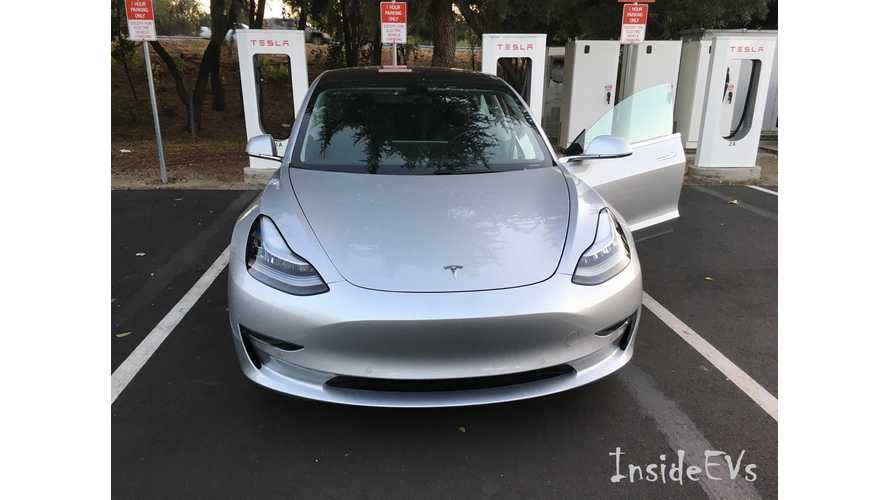 You Think The Tesla Model 3 Supercharges Fast Now? Just Wait ...