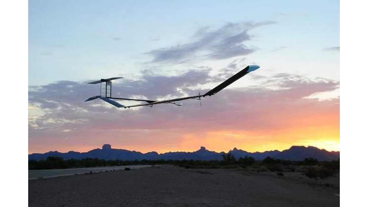Lithium-Sulfur Batteries Power High-Altitude Aircraft For 11-Day Flight