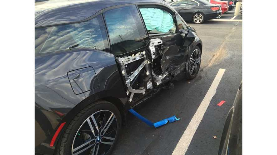 Wrecked BMW i3: 3 Day Test Drive Goes Awry