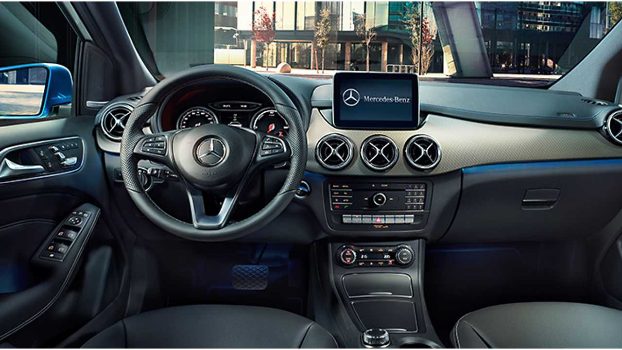 Mercedes B Class Electric >> Mercedes Benz Takes 2015 B Class Electric Drive For A Spin