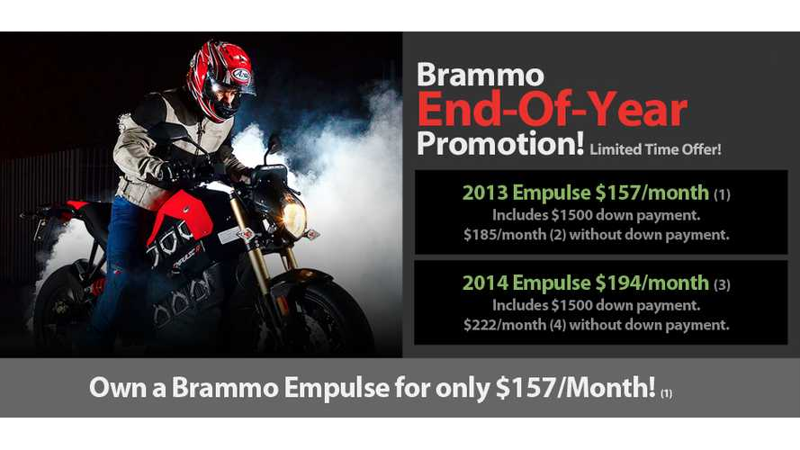 Brammo Extends Sale to End of Year