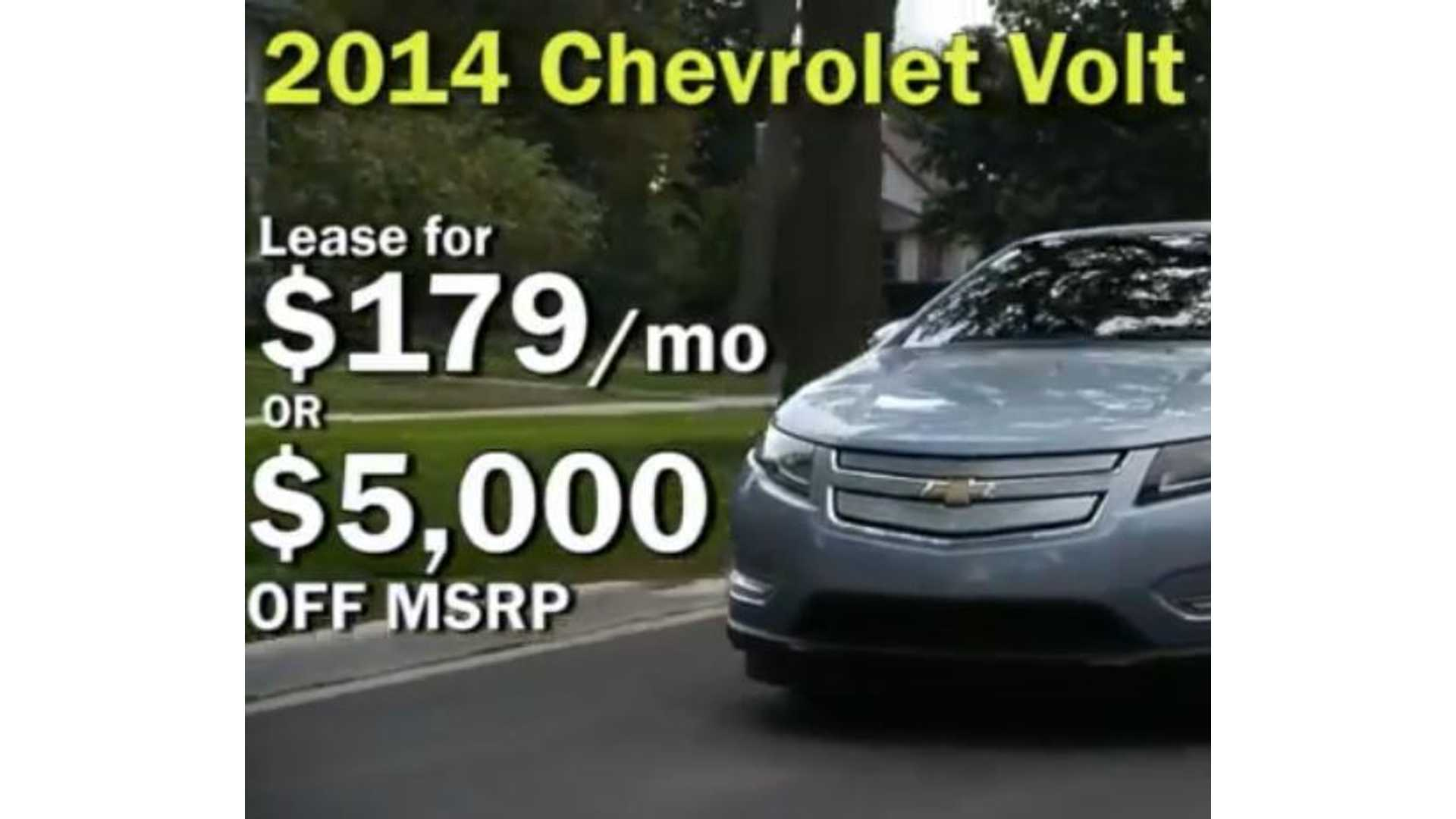 Chevy Volt Lease >> Lease A 2014 Chevy Volt For 179 Per Month Video