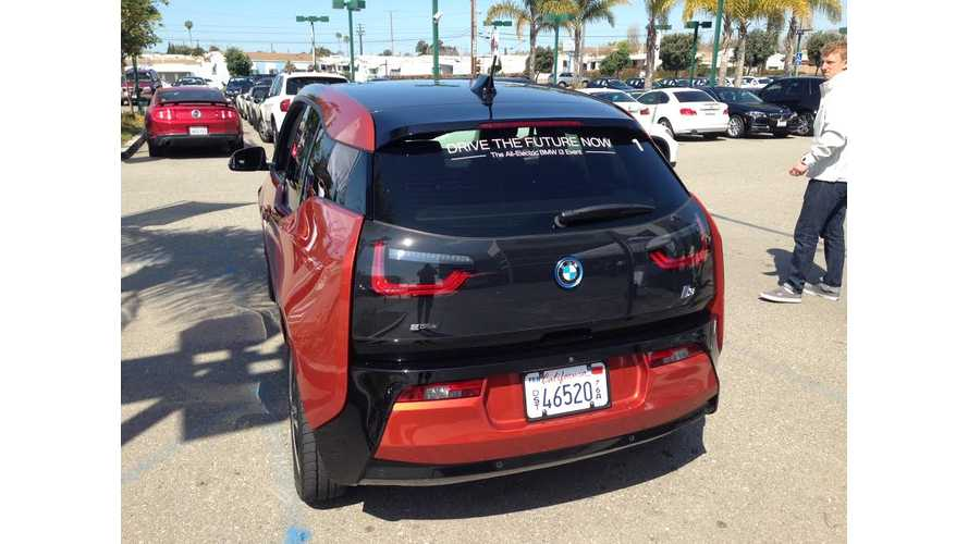 Three-Day Test Drives Increase BMW i3 Sales