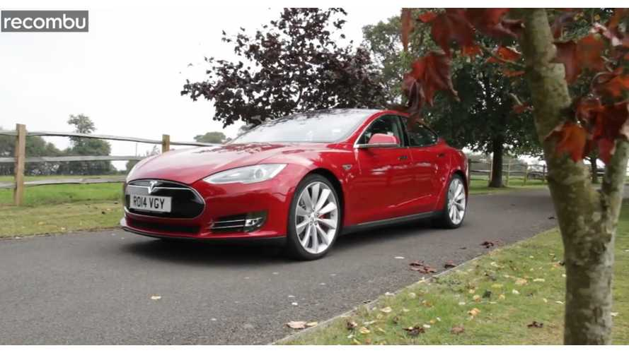 Review: Tesla Model S P85+ By Recombu - Video