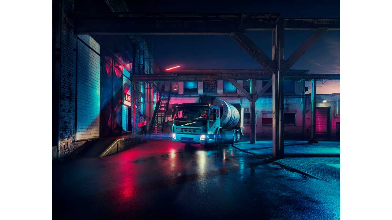 Volvo Unveils Second Electric Truck - FE Electric, It's Bigger, Badder