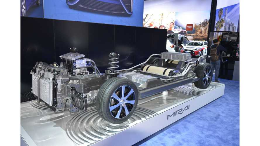 Toyota Claims Mass Production Of Fuel Cell Vehicles Will Start Soon