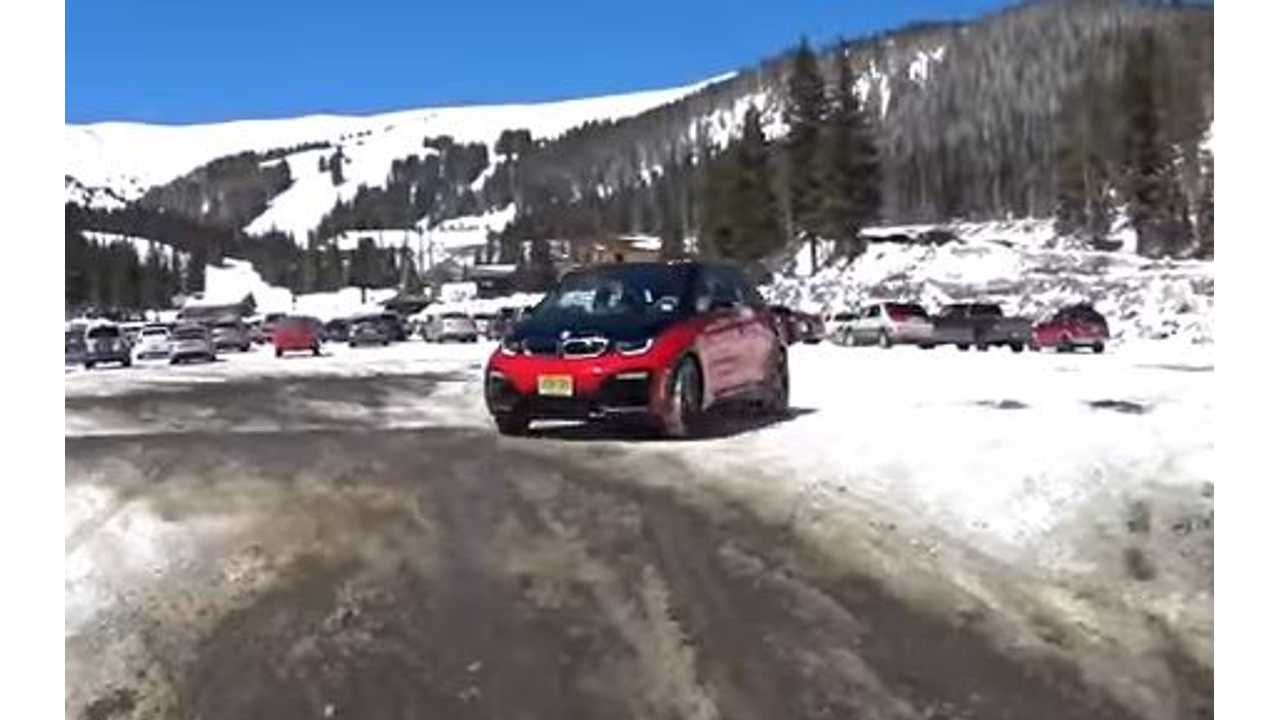 BMW i3 S Versus A Mountain - Can It Summit On Battery Alone?