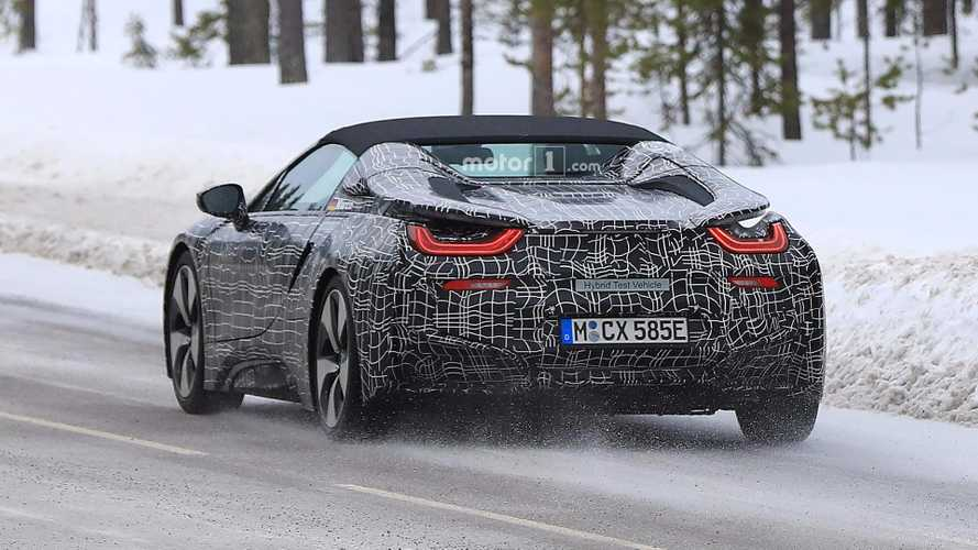 BMW i8 Spyder Spied In Sweden