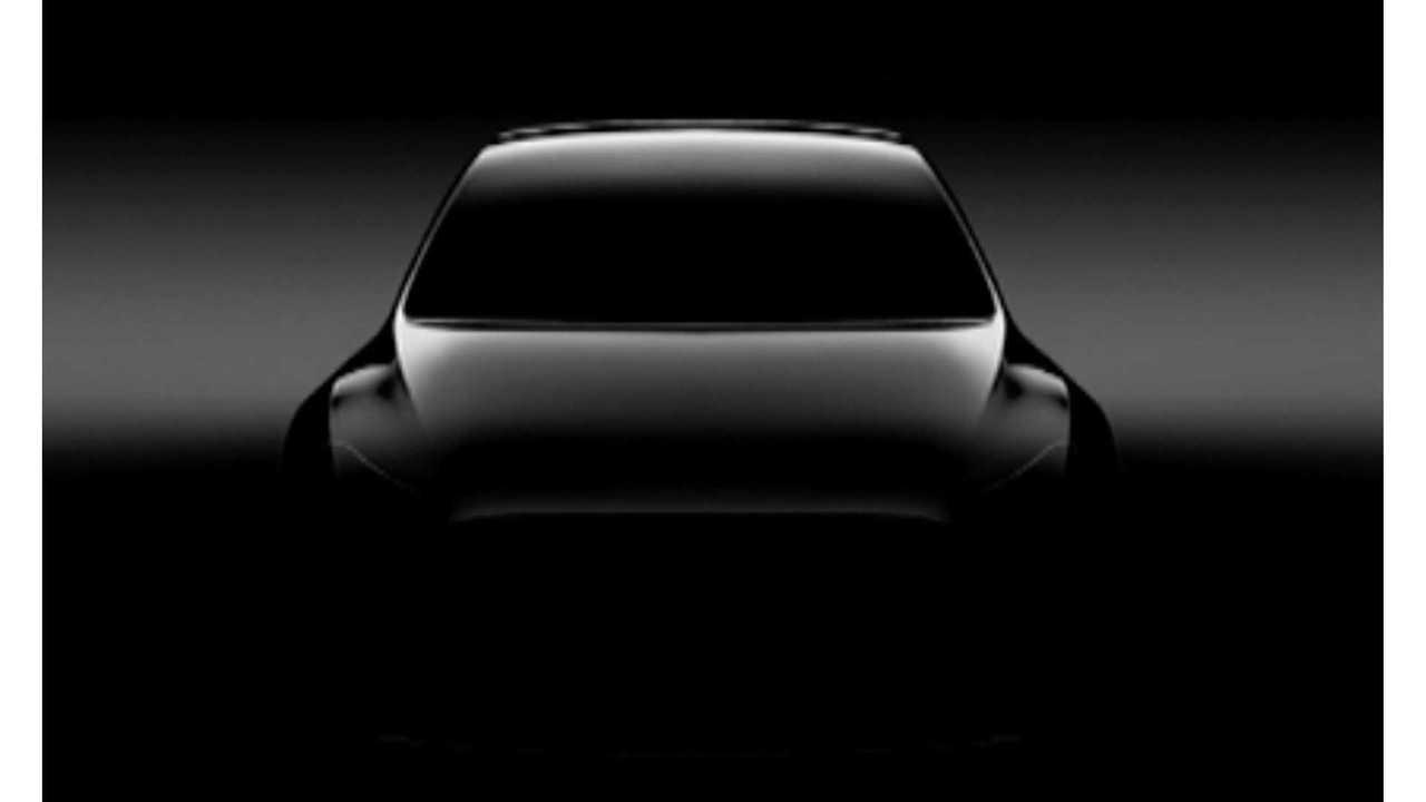 Tesla Model Y Rendered