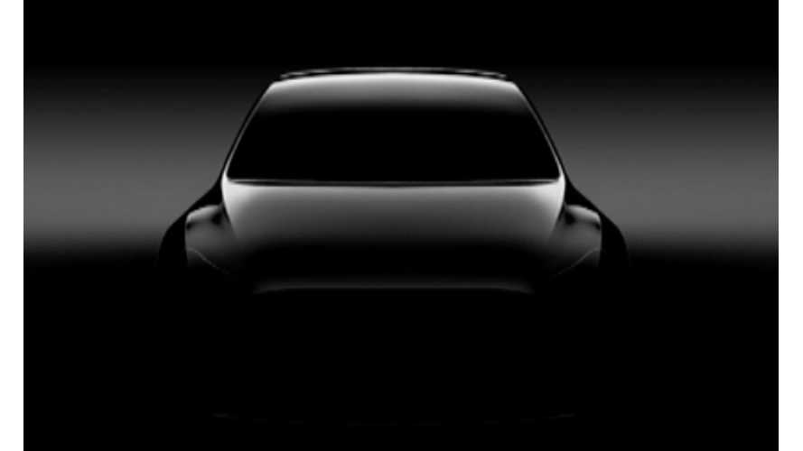 Tesla Model Y Rendered