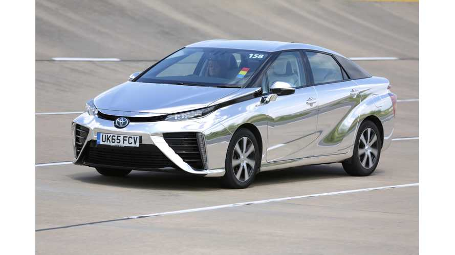 Toyota May Use Fuel Cell Tech To Manufacture Hybrids & PHEVs