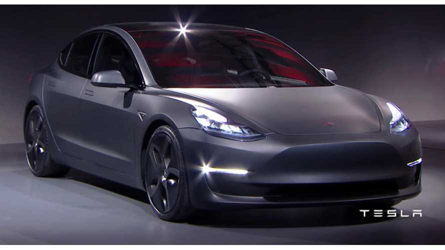 Right-hand Drive Tesla Model 3 Arriving In UK In Summer 2018