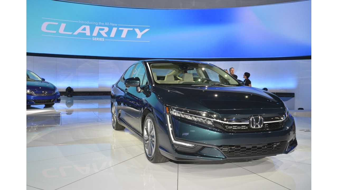The <strong>Honda Clarity Plug-in Hybrid</strong> <em>(~42 miles range - <a href=