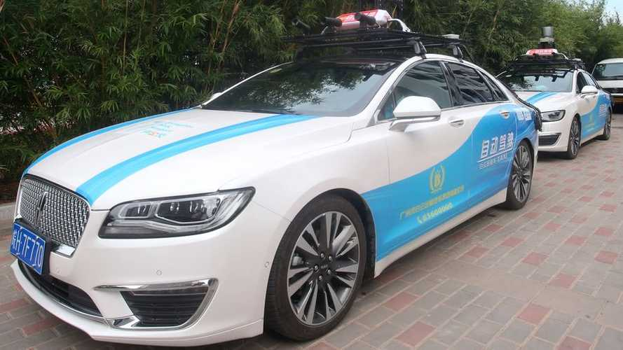 Watch As China's First Electric, Fully Self-Driving Taxis Hit the Road