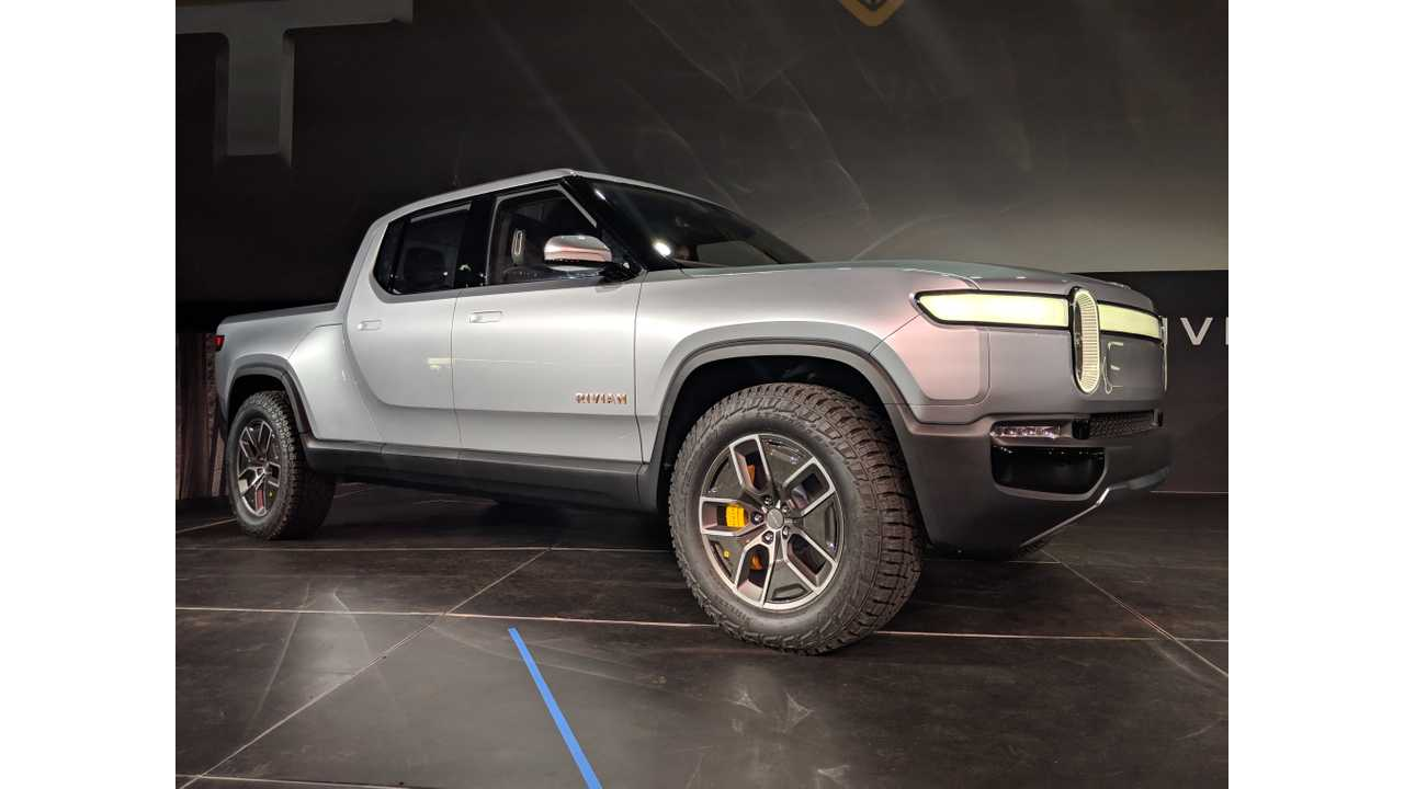 Rivian R1T Electric Pickup Truck Shocks World In LA Debut [UPDATE]