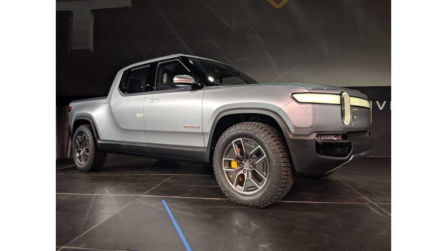 Rivian R1T in Los Angeles 2018