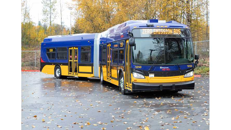 King County Metro Tests EV Buses With More Than 140 Miles Of Range