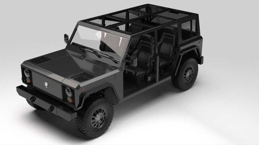 Bollinger B1 Electric Truck Rendered Without Doors