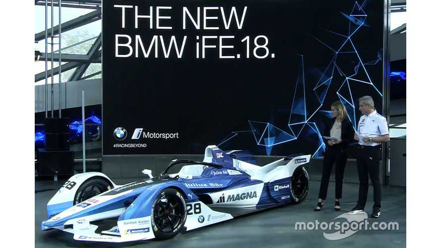 Check Out The Works BMW Formula E Car