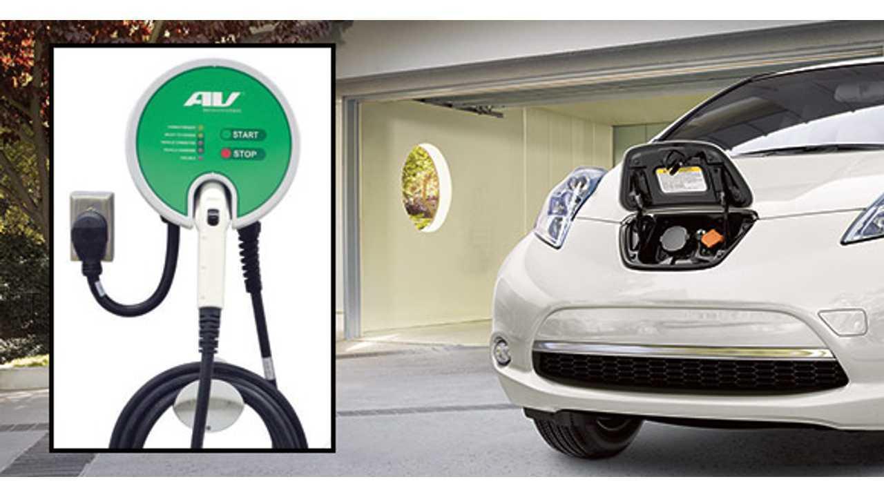 Nissan Leaf Charger >> Nissan Leaf Level 2 Charger Giveaway