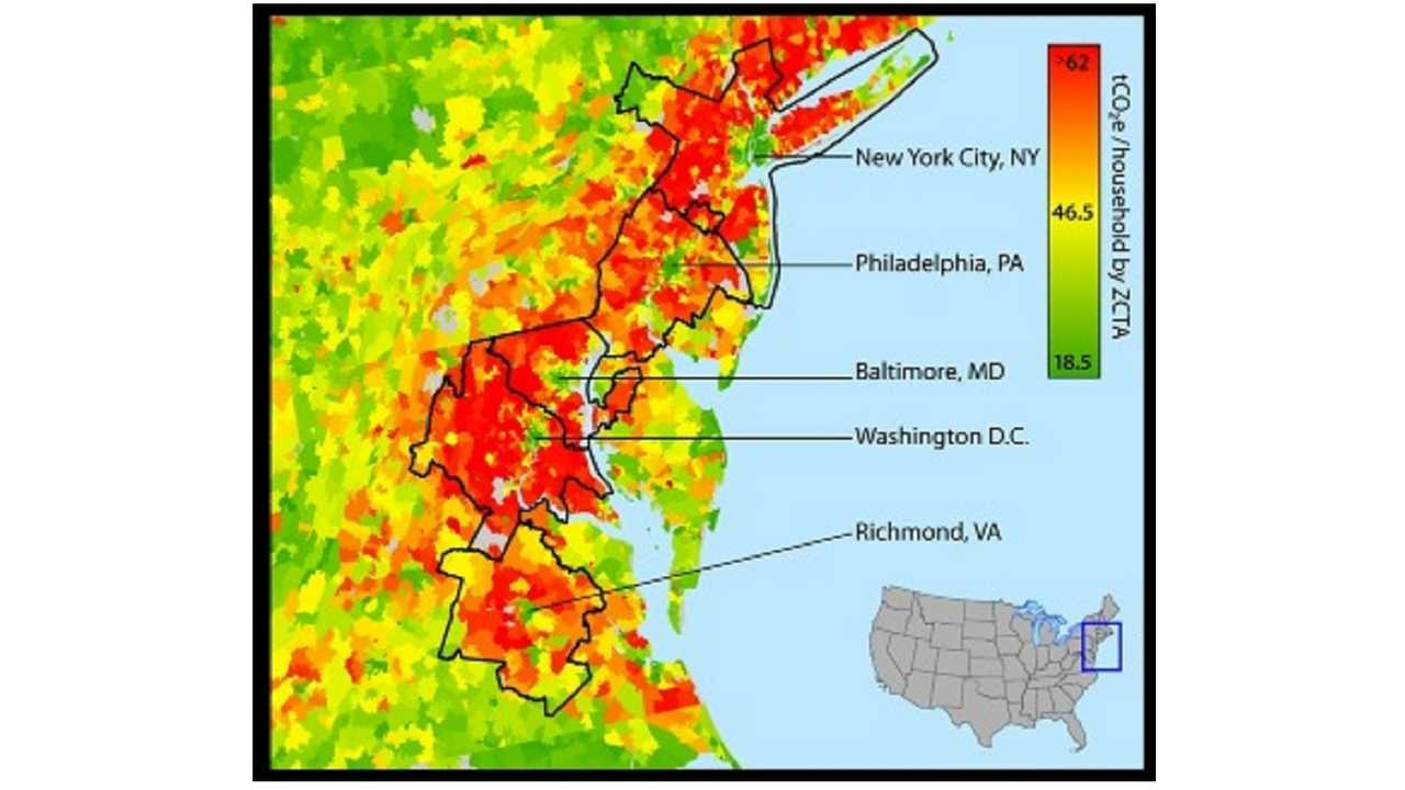 urban carbon footprint