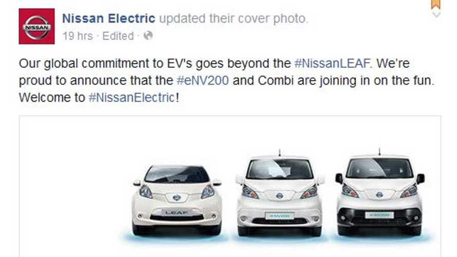 Nissan Officially Welcomes e-NV200 & Combi Electric Vans To Electric Car Stable Headed By LEAF