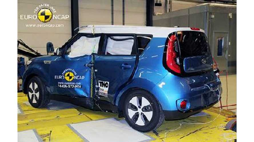 Kia Soul EV Gets 4-Star Euro NCAP Safety Rating
