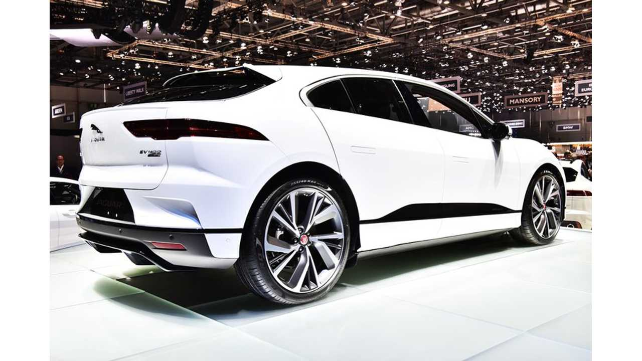 Jaguar I-PACE Can Charge At 100 kW After Update