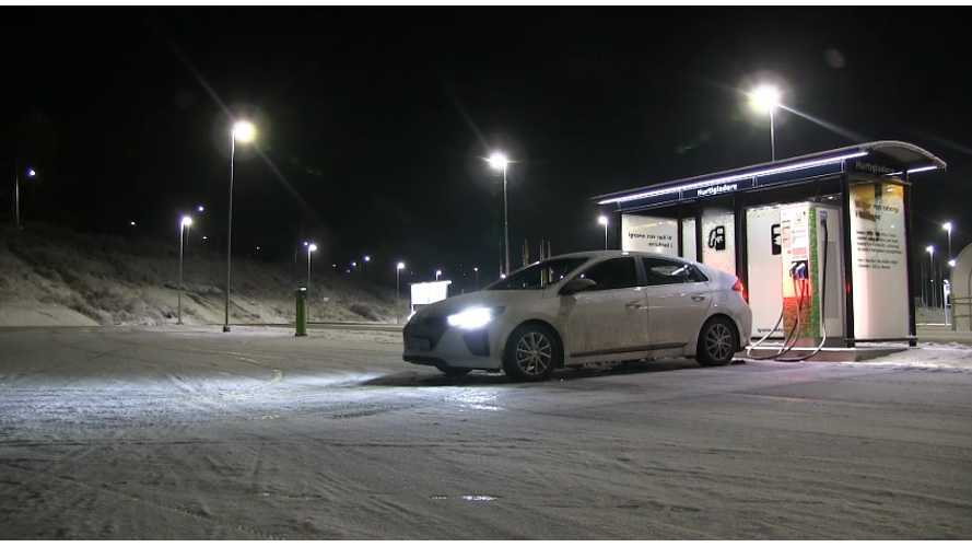 Hyundai IONIQ Electric Featured By Bjørn Nyland in Norway (Videos)