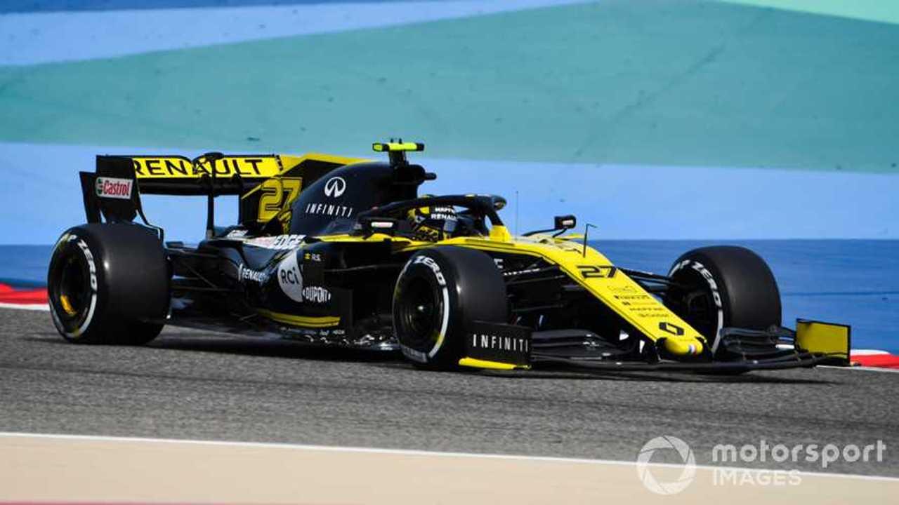 Nico Hulkenberg at Bahrain GP 2019