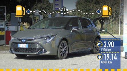 Toyota Corolla Hybrid 2019: prueba de consumo real
