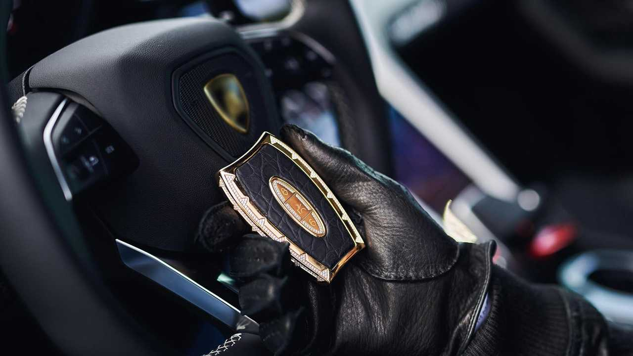 This Is What A $563,000 Car Key Looks Like