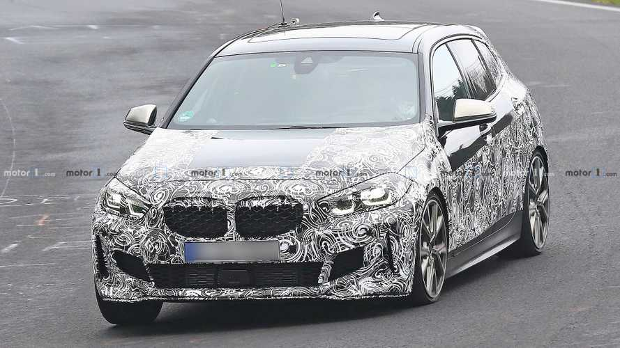 BMW M135i xDrive spied lapping the Nurburgring