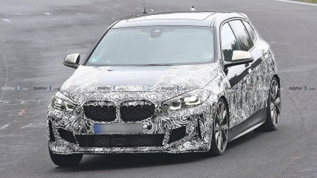 BMW M135i xDrive (2019) Erlkönig am Nürburgring erwischt