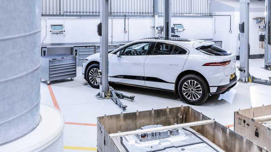 Les prototypes de Jaguar I-Pace sont démontés pour recyclage
