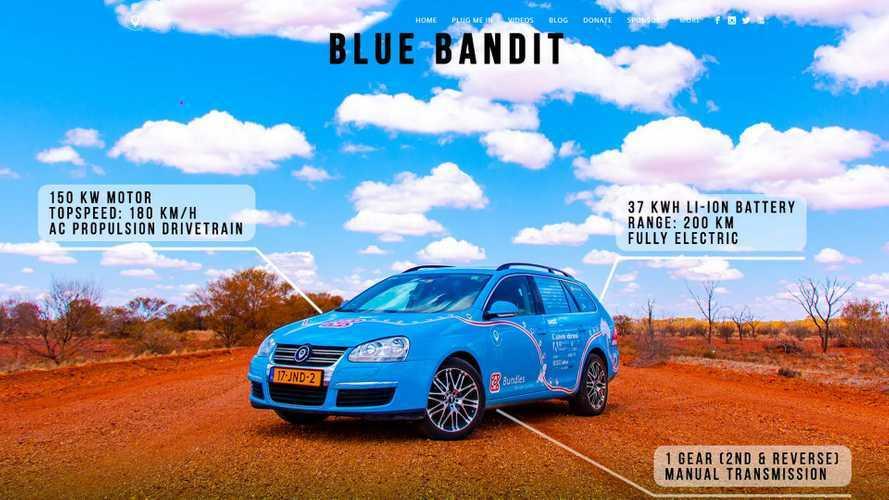 Des Pays-Bas à l'Australie en voiture électrique pour 267 euros