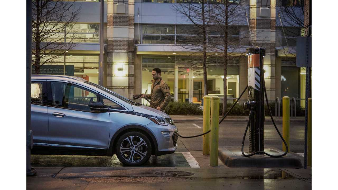 Chevrolet Bolt EV in Maven's first all-electric fleet of shared vehicles for freelance driving launched in Austin, Texas.