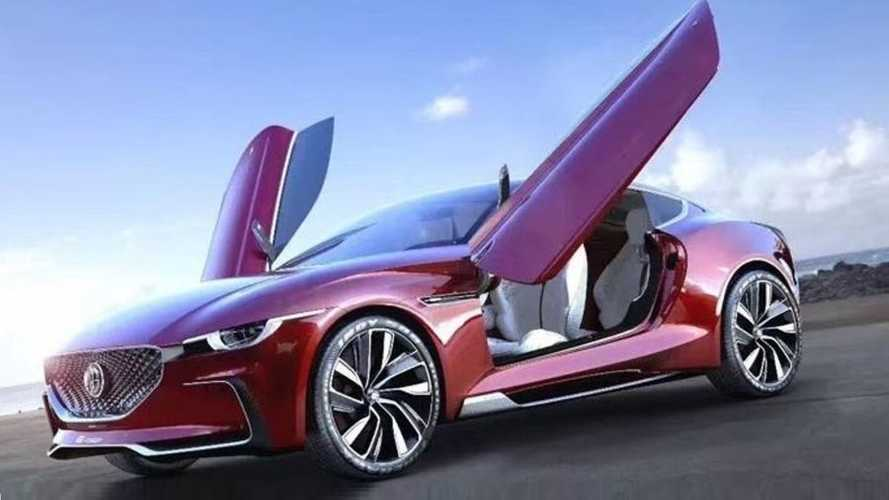 MG E-Motion Electric Concept Reportedly Production Bound