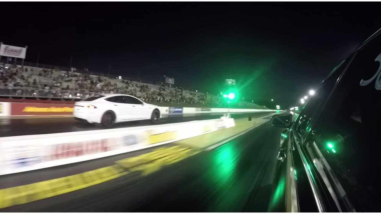 Watch How Quick A Gutted Tesla Model S P100D Goes 0 To 60 MPH